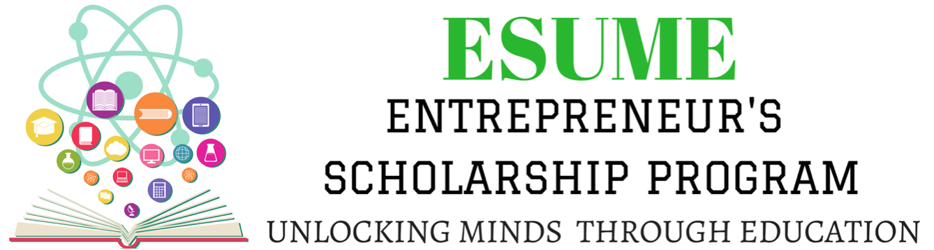 Entrepreneur's Scholarships Unlocking Minds thru Education Logo